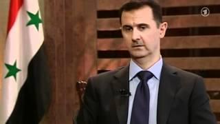Rozhovor s prezidentem Sýrie Bašarem al-Assadem, Německá TV ARD 8.7.2012
