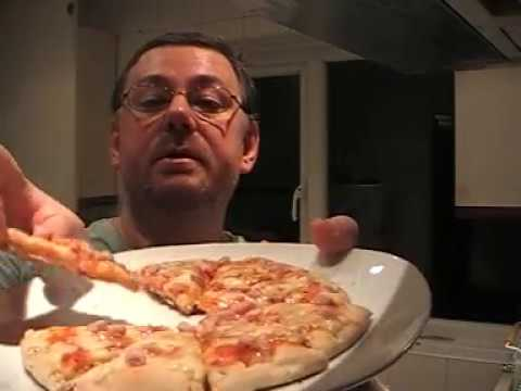 Marks Remarks Co Op Mini Ham Cheese Pizza Review