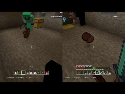 Life continues in minecraft