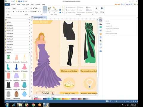 Edraw Software For Any Type Of Graphics Design Youtube