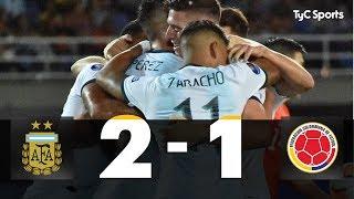 ARGENTINA 2-1 Colombia (SUB-23 CAMPEÓN Y CLASIFICADO A TOKYO 2020) - RESUMEN Y GOLES