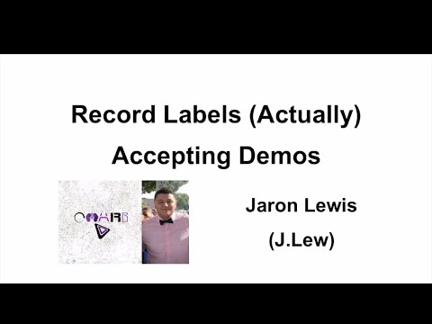 Record Labels (Actually) Accepting Demos 2018