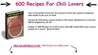 Top 600 Best Chili Recipes\ 600 Recipes For Chili Lovers Reviews