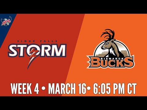 Week 4 | Sioux Falls Storm at Bismarck Bucks