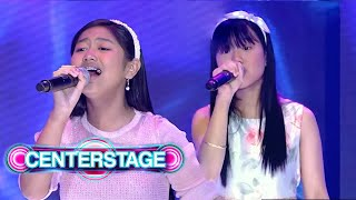 Donnalyn Soriano and Vianna Ricafranca IGNITE their singing prowess! | Centerstage