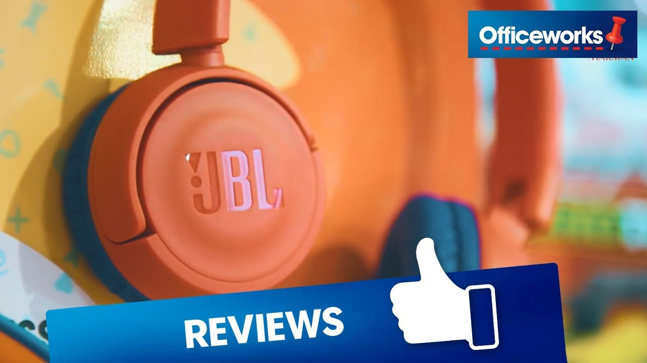 32ab34c8640 JBL Kids Headphones JR300. Officeworks