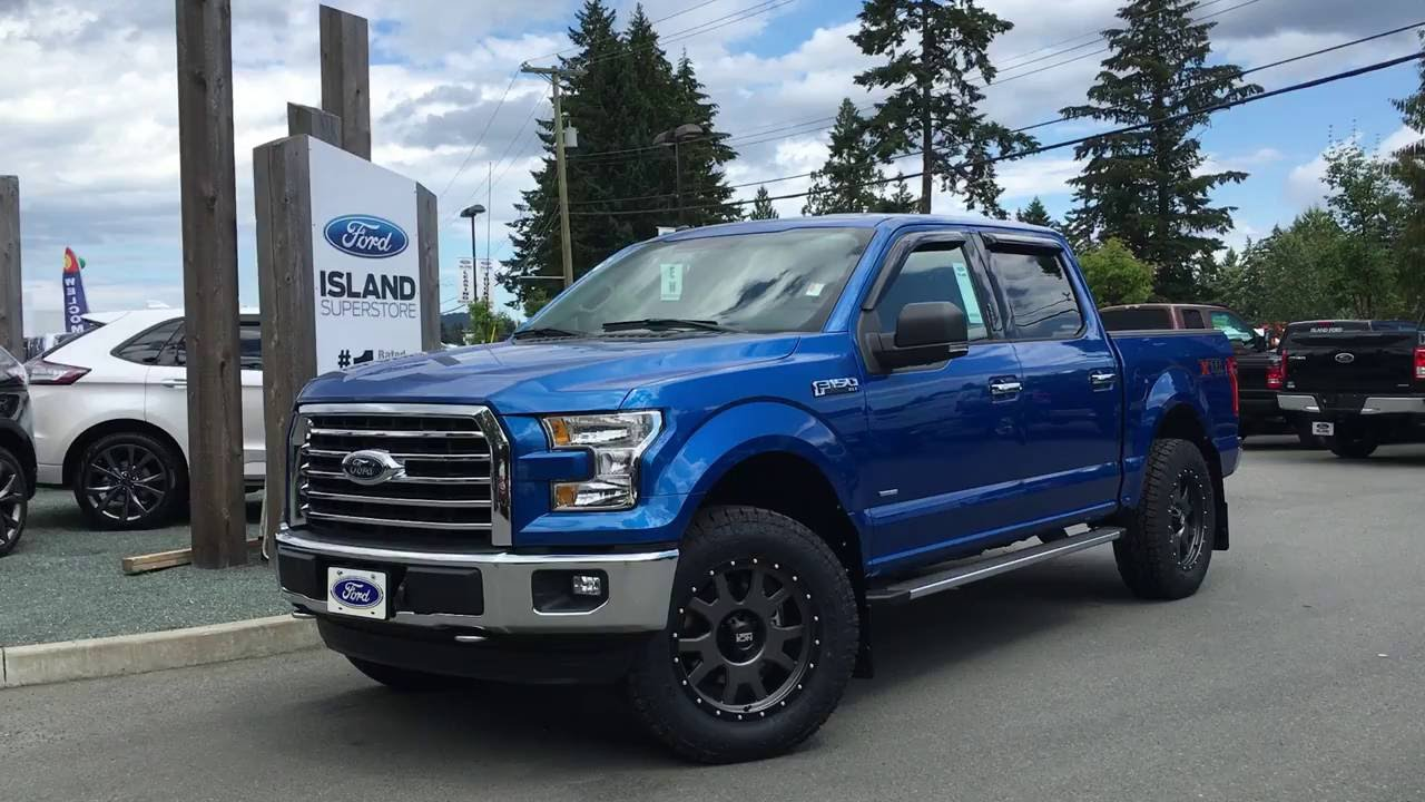 Leveled 2016 Ford F-150 XLT XTR FX4 SuperCrew 4X4 ...