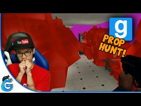 GMOD PROP HUNT - NGUMPET DI MAP ERROR - GARRY'S MOD INDONESIA