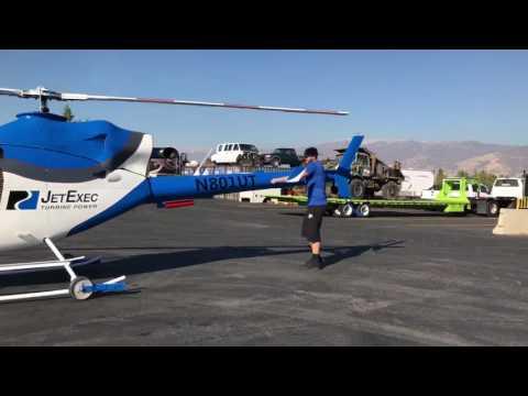 Rotorway JetExec Turbine Helicopter