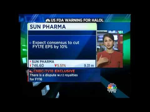 Sun Pharma Receives Warning Letter From US FDA For Its Halol Plant