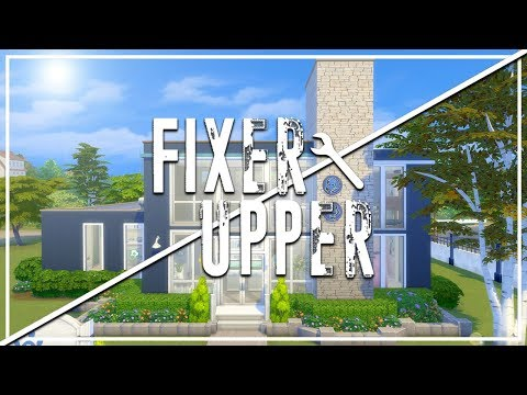 BRINDLETON PAWSPITAL // The Sims 4: Fixer Upper - Vet Clinic Renovation