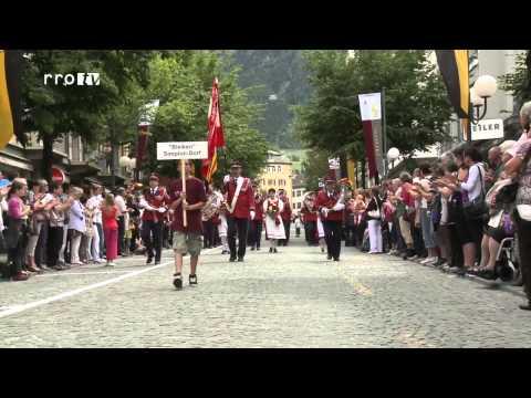 Oberwalliser Musikfest Brig 2012 - Marschmusik-Wettbewerb Sonntag