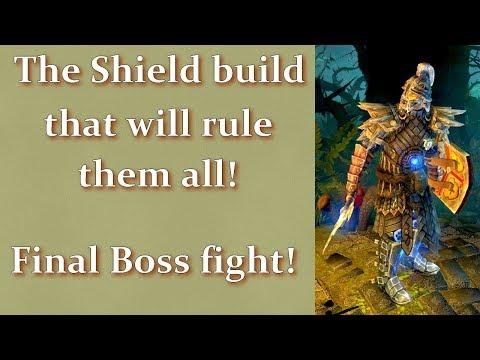 Grim Dawn AoM - The shield build that will rule them all
