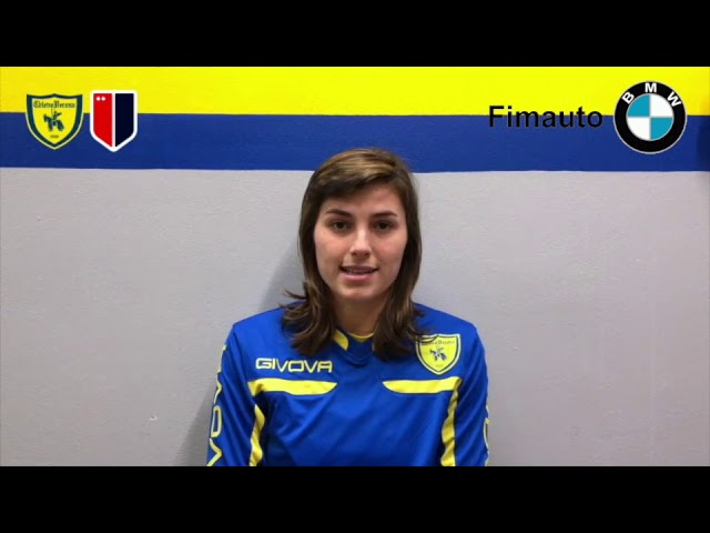 Penelope Riboldi comes back from the injury