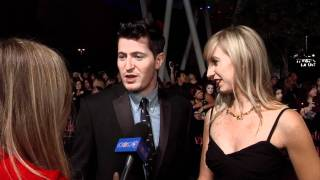 Imperial Mammoth Talk Breaking Dawn Soundtrack & Requiem On Water at Premiere