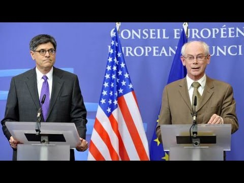Obama Sends Lew to Europe Preaching Growth While Practicing Austerity at Home