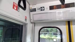 【自動放送】E129系「長岡行」 水上発車後 上越線「次は湯檜曽」