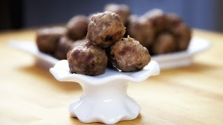 Baked Meatballs  - Pieczone Pulpety -  Recipe #159