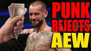 CM Punk REJECTED A BIG MONEY OFFER From AEW Before Coming Back! (9 Shocking Rumors On His Return)