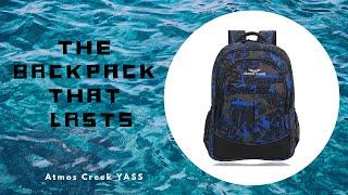 34 Litres Printed Casual Laptop Unisex Backpack AC YASS   Atmos Creek