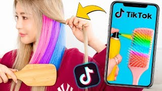 We Tested VIRAL TikTok Hair Hacks! *THEY WORKED* (PART 2)