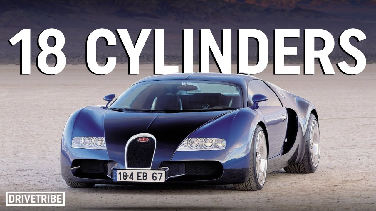 The Bugatti Veyron was nearly powered by an even crazier engine than the W16