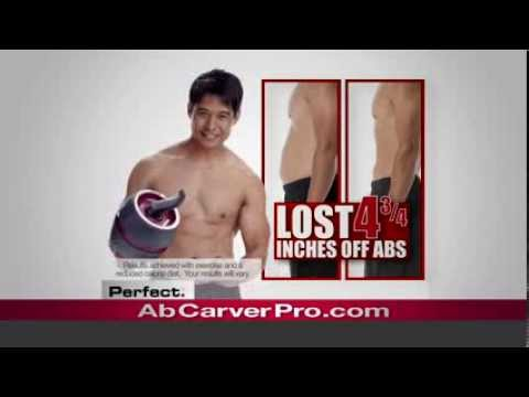 ab carver® pro success story for men  perfect fitness