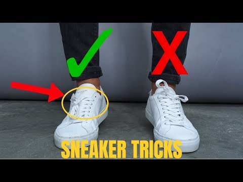 6 Sneaker Tricks All Guys Should Know