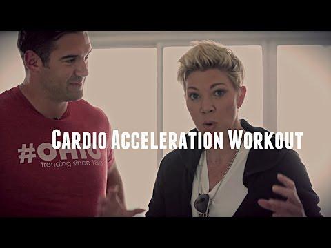 Cardio Acceleration Workout - Jackie Warner Trains Lewis Howes