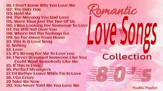 Love Songs Collection l Best Of Love Songs 80's l Romantic Love Songs