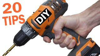 20 Drilling Tips for Beginners