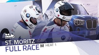 St. Moritz | BMW IBSF World Cup 2016/2017 - 2-Man Bobsleigh Heat 1 | IBSF Official