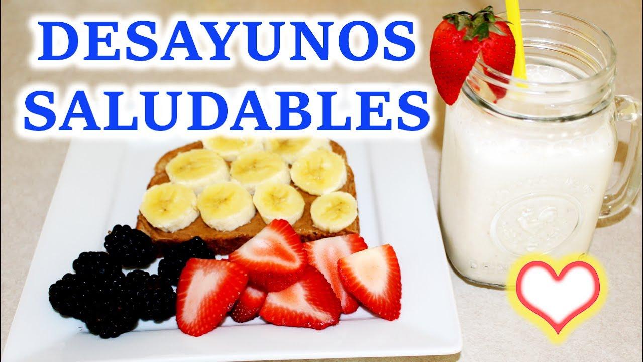 Desayunos Saludables 🍴 Faciles y Deliciosos 🦄 Bessy Dressy ...