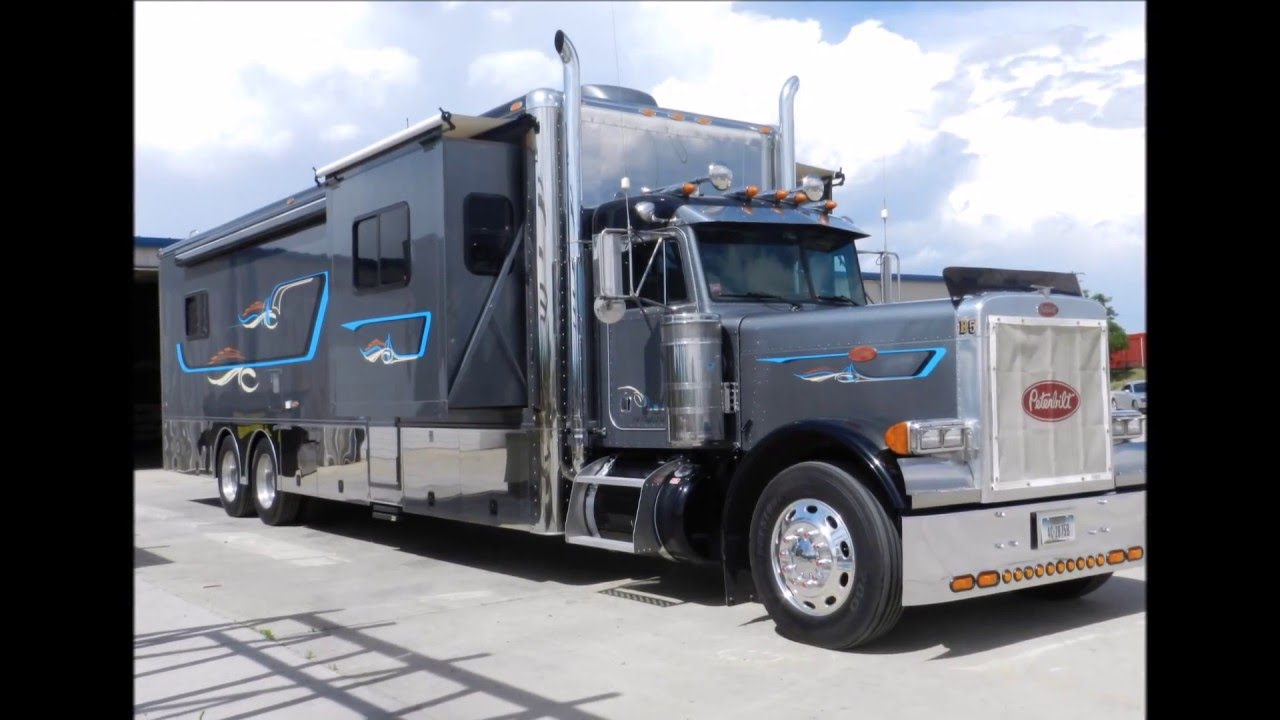 2008 Custom Diesel Peterbilt RV For Sale