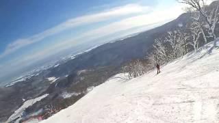 夏油高原スキー場A1コース 2017.01.15