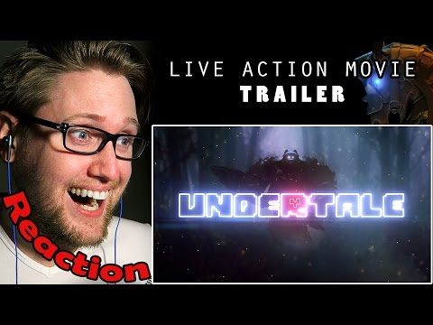 UNDERTALE: The Movie (Live Action Trailer) by Iron Horse Cinema REACTION!