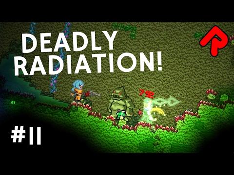 Surviving Deadly Radiation: Mutavisk & Irradium | Let's Play Starbound Frackin' Universe mod ep 11