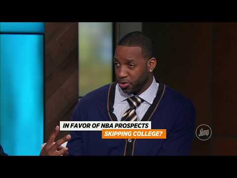 Tracy McGrady players should not be able to skip college