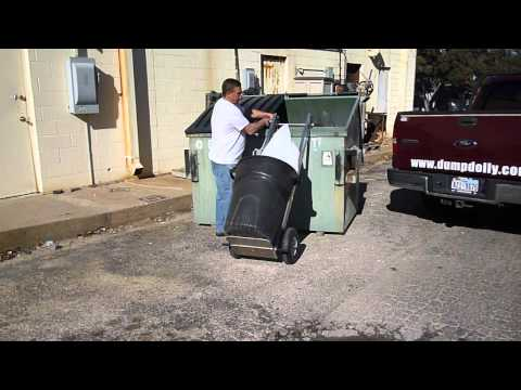 Hand Truck Dump Dolly Easily Lift Garbage Cans Doovi