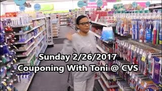 CVS 2/26/17 In-Store Shopping | Toni Got Lots of Deals Couponing Today