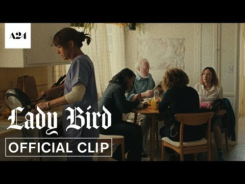 Download Youtube: Lady Bird | McPherson Family Breakfast | Official Clip HD | A24
