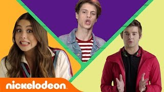 ☘️ St. Patrick's Day Tongue Twisters 👅 w/ Jace Norman, Kira Kosarin & More! | #FunniestFridayEver