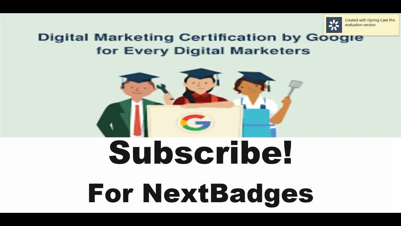Google Digital Certificate Badge 1 Answers Youtube
