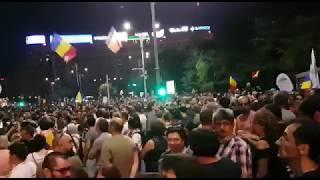 Protest Piața Victoriei 11 august 2018 / Autor Andrei Murgescu