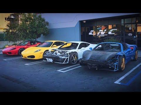 Зарплата механика в США? Как купить ФЕРРАРИ и заработать? Автосервисы и аукционы битых машин.