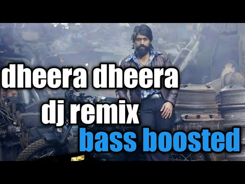 Dheera Dheera Psy Trance Kgf Song Remix Bass Boosted Dj Rajav
