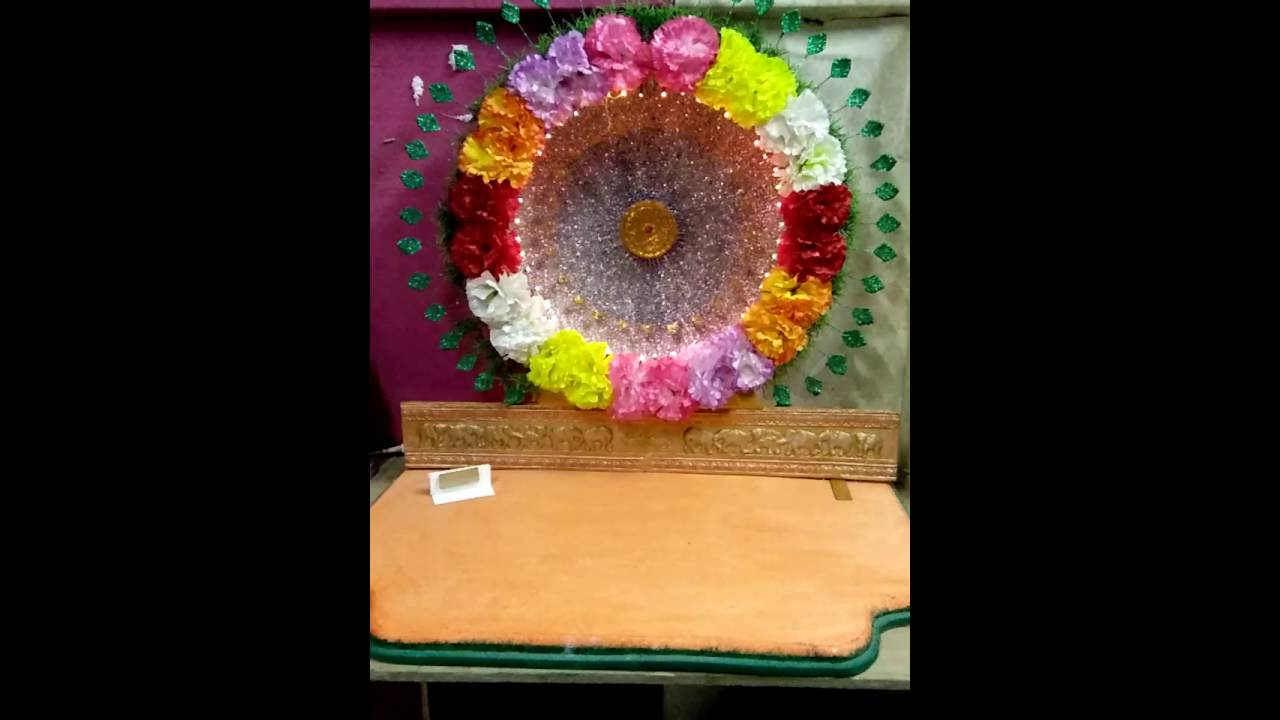 Artificial Flowers Decoration For Ganpati At Home Korean Artists