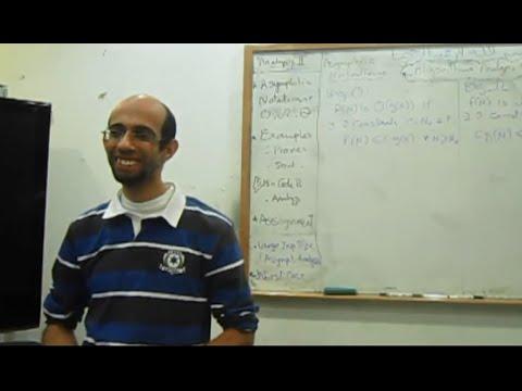 Algorithms analysis & Design - Dr.Ahmed Salah - Sec 2