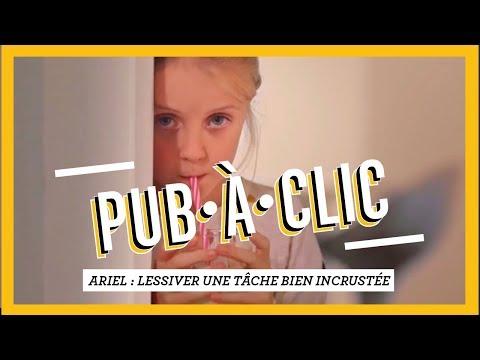 PUB•À•CLIC - Ariel - Lessiver une tâche trop incrustée.