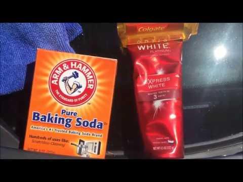 350Z Headlight Restoration (DIY) w/ Baking Soda & Toothpaste - @Kewlbreezekeez